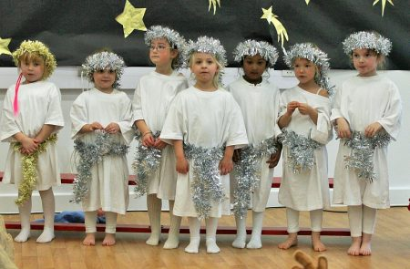 Nativity play at Bradley Stoke Community School's primary phase.