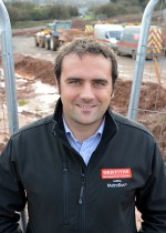 Simon Dunn, area projects manager for Alun Griffiths (Contractors) Ltd.