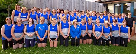 Members of Sole Sisters, the north Bristol ladies-only running club.