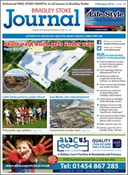 February 2016 edition of the Bradley Stoke Journal magazine.
