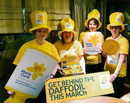 Marie Curie Five Stokes Fundraising Group.