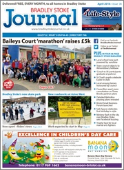 April 2016 edition of the Bradley Stoke Journal magazine.
