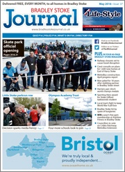 May 2016 edition of the Bradley Stoke Journal magazine.