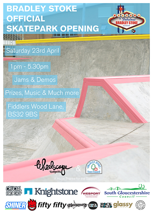 New skate park official opening event.