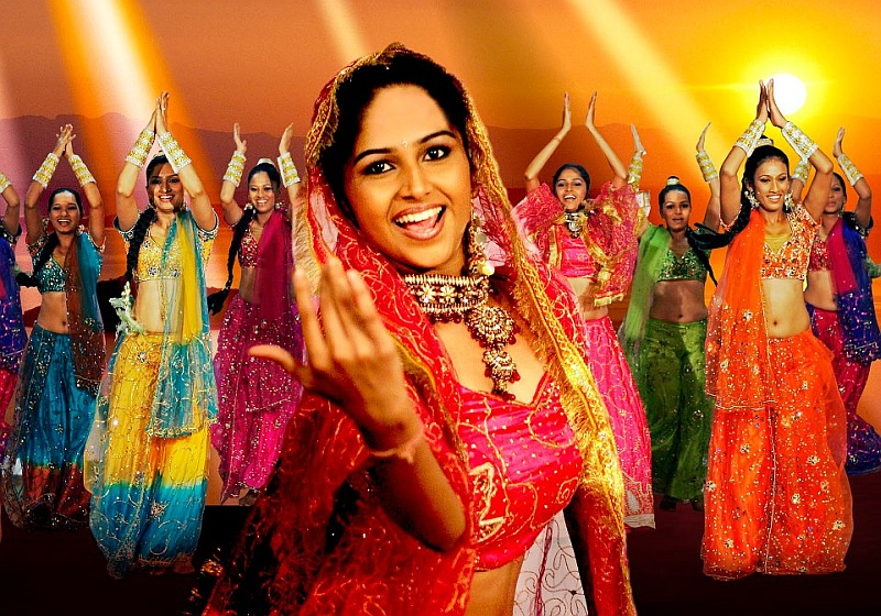 South Gloucestershire Asian Project - Bollywood Dance.