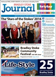 June 2016 edition of the Bradley Stoke Journal magazine.