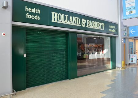 The new Holland & Barrett store at the Willow Brook Centre, Bradley Stoke.