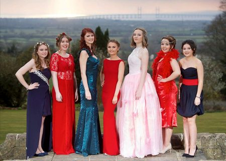 Finalists in the 2016 prom dress competition organised by the John Lewis store at Cribbs Causeway.