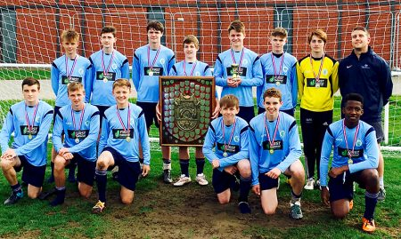 Bradley Stoke Community School's Year 10 Boys football team - Gloucestershire County Champions 2016.