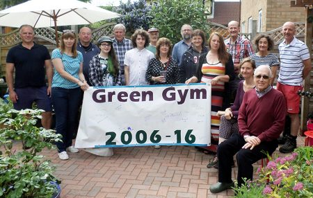 Green Gym tenth anniversary celebration.