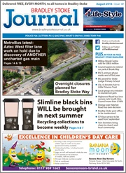 August 2016 edition of the Bradley Stoke Journal magazine.