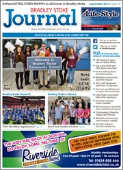 September 2016 edition of the Bradley Stoke Journal magazine.