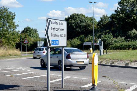 Great Stoke Roundabout (a.k.a. Rabbit Roundabout), Bradley Stoke, Bristol.