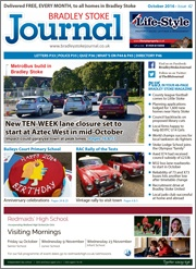 October 2016 edition of the Bradley Stoke Journal magazine.