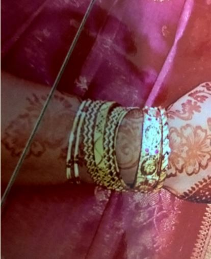 Jewellery stolen during a burglary in Bradley Stoke, Bristol.