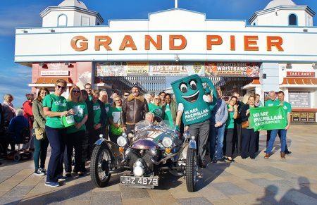 """World's biggest cream tea"" record breaking attempt at Weston-super-Mare Pier, in aid of Macmillan Cancer Support. [Photo credit: Neil O'Donoghue; image rights retained.]"