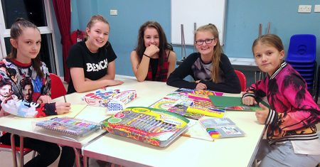 Girls and Young Women's Night at the Jubilee Centre, Bradley Stoke.