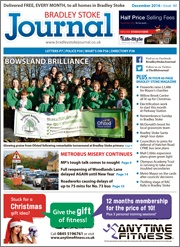 December 2016 edition of the Bradley Stoke Journal magazine.