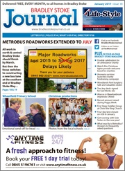 January 2017 edition of the Bradley Stoke Journal magazine.