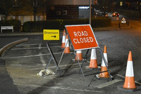 Overnight road closure on Bradley Stoke Way - for MetroBus resurfacing work.
