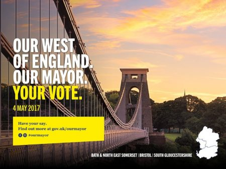 West of England Mayoral Election, 4th May 2017.