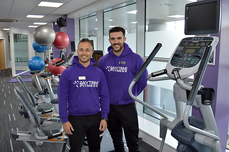 Photo of staff at Anytime Fitness Bradley Stoke.