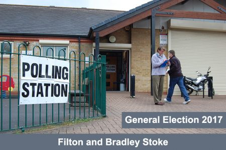 Polling station within the Filton and Bradley Stoke Constituency.