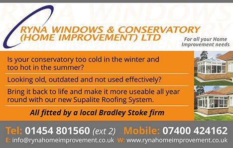Ryna Windows & Conservatory (Home Improvement) Limited