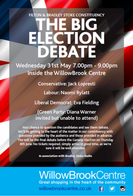 Poster for The Big Election Debate.