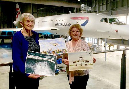 Photo of Sue Jones (left) and Susan Hartry.