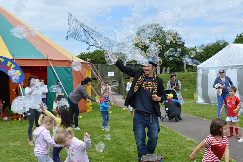 2017 Bradley Stoke Community Festival 'Picnic in the Park'.
