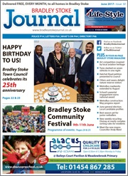 June 2017 issue of the Bradley Stoke Journal magazine.