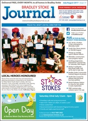 July/August 2017 issue of the Bradley Stoke Journal magazine.