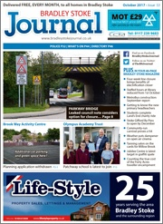 October 2017 issue of the Bradley Stoke Journal magazine.