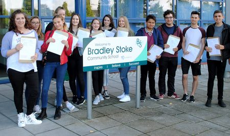 Top performing Post-16 students at Bradley Stoke Community School