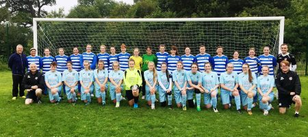 Bradley Stoke Youth FC U16 Girls' and Ladies' squads 2017.