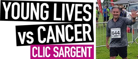 Jack Lopresti is supporting CLIC Sargent
