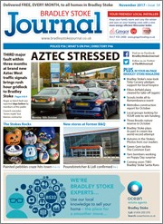 November 2017 issue of the Bradley Stoke Journal magazine.