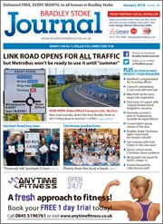 January 2018 issue of the Bradley Stoke Journal magazine.