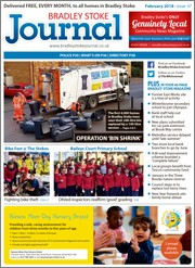 February 2018 issue of the Bradley Stoke Journal magazine.