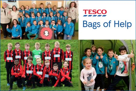 Tesco Bags of Help projects in Nov/Dec 2017 and Jan/Feb 2018 (Bradley Stoke).