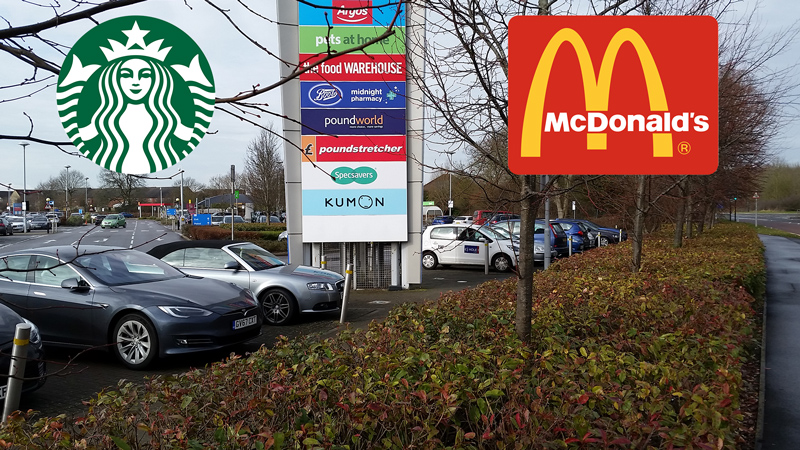 Starbucks and McDonald's are set to come to the Willow Brook Centre.