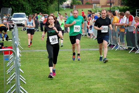 Bradley Stoke 10k Run 2016.