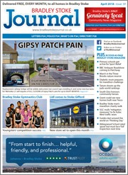 April 2018 issue of the Bradley Stoke Journal magazine.