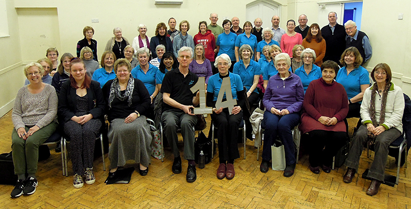 Stokes Singers join Crossbow Singers at Frampton Cotterell.