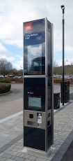 Photo of an iPoint at the Long Ashton Park & Ride.