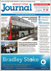 May 2018 issue of the Bradley Stoke Journal magazine.