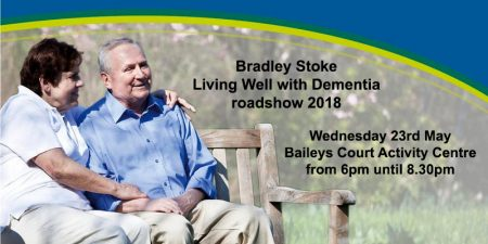 Bradley Stoke 'Living Well with Dementia' roadshow 2018.