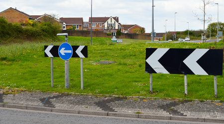 Photo of Great Stoke Roundabout (a.k.a Rabbit Roundabout).