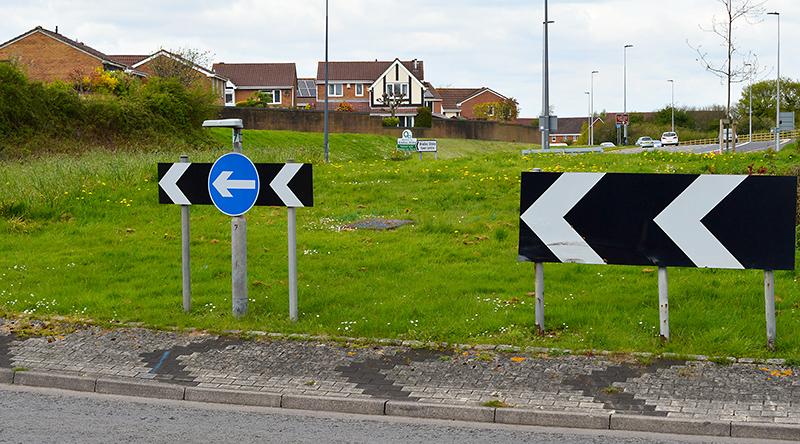 Photo of Great Stoke Roundabout (a.k.a Rabbit Roundabout).
